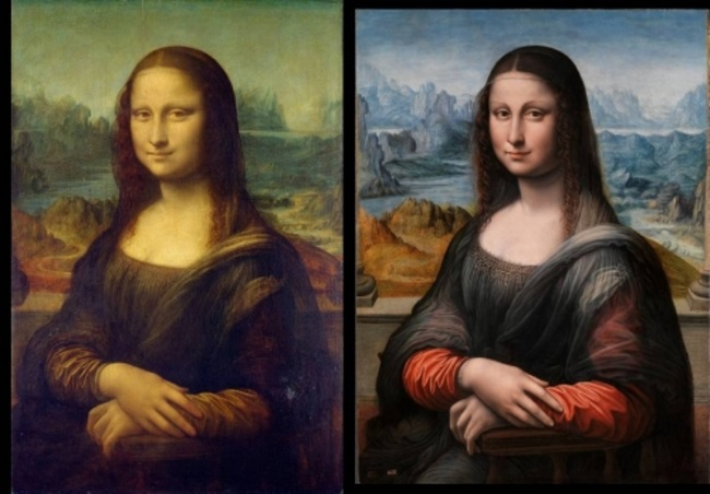 Mona Lisa as stereogram