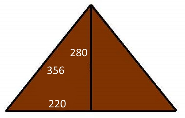 Image of the Great Pyramid Triangle