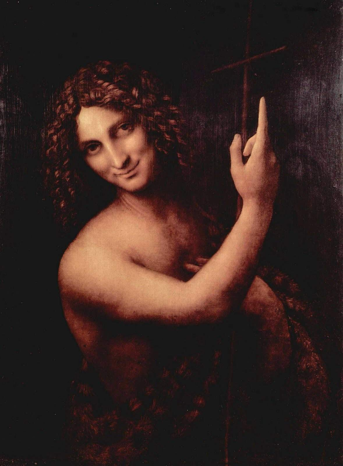 Painting St. John the Baptist.